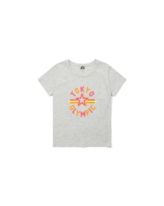 T-Shirt Tokyo Olympic - Chine gris