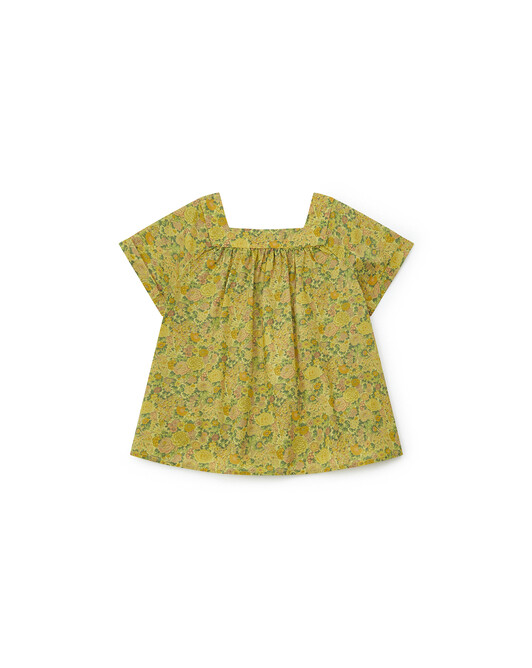 Blouse Liberty Fille Scooter - Coco yellow