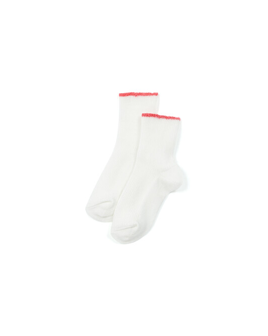Chaussettes Bebe - Rose fluo