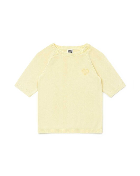 Pull Fille Stone - Coco yellow