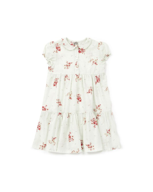 Robe Fille Amour - Fleur campagne