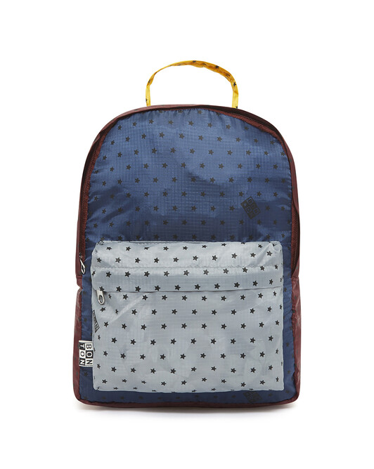 Bonton Print Child Backpack - D000