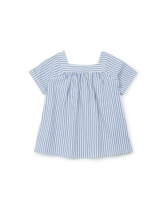 Blouse Fille Scooter - Ray blue