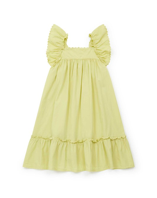 Robe Fille Célia - Coco yellow