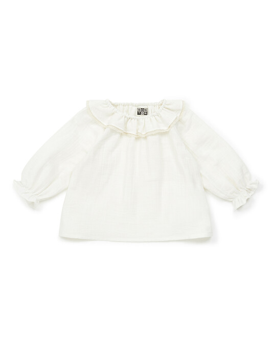 BLOUSE BEBE A COL SOLANE - Milkyway