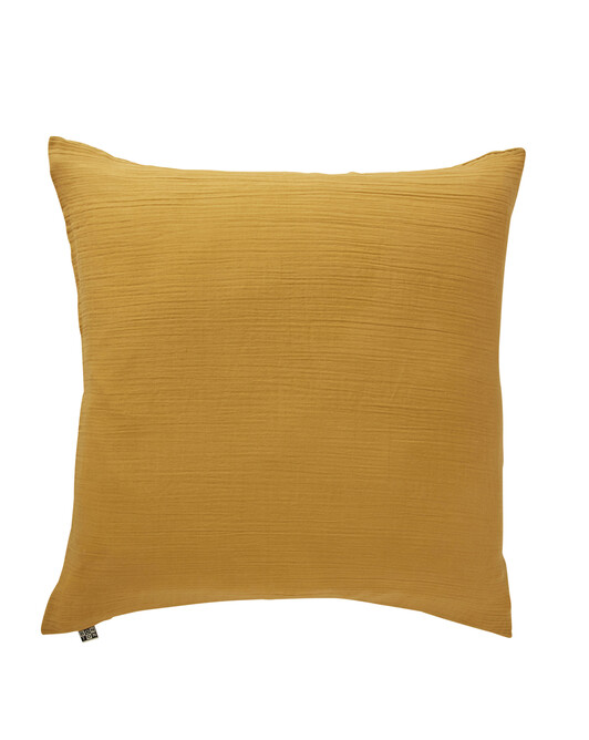 Taie Oreiller Dream Jaune Moutarde 65X65 - Moutarde