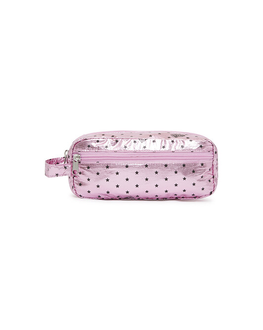 Trousse Logote Shiny - Semi shiny rose