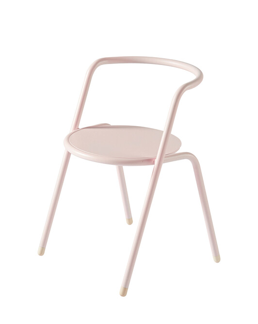 Fauteuil Adulte Tub Rose - B956