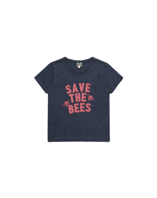 T-Shirt To Save Fille - Gris chaton