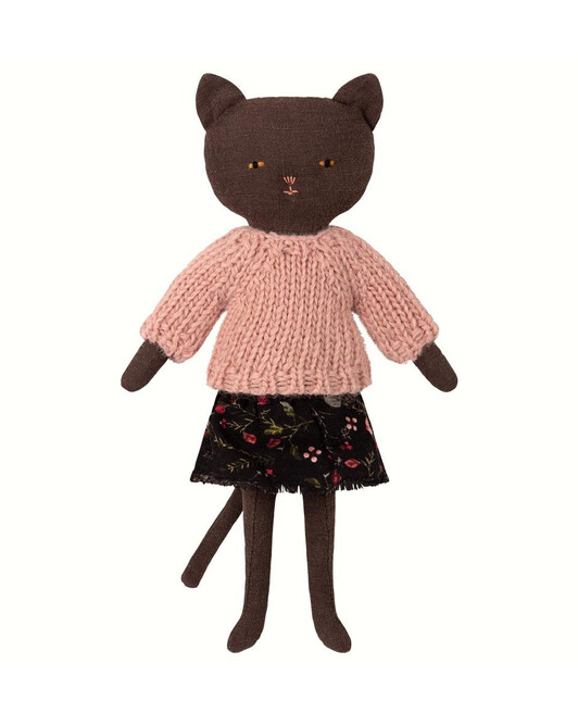 Maileg Black Kitten Doll - 000