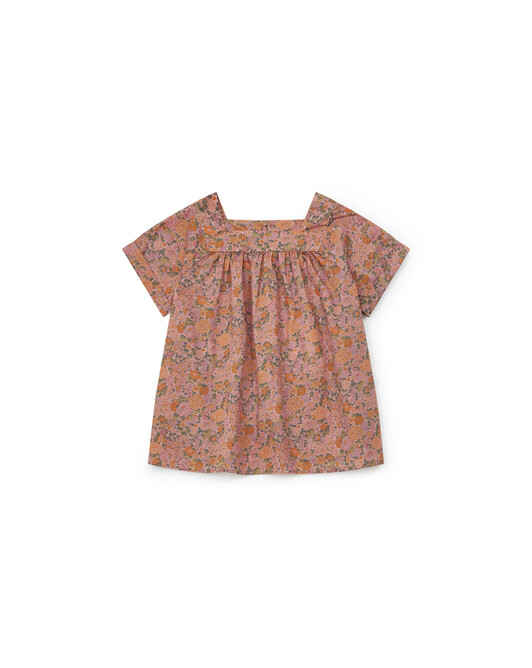Blouse Liberty Fille Scooter - Rose sofia