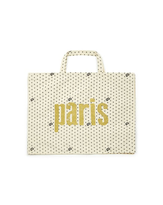 Golden Paris Tote Bag - 964