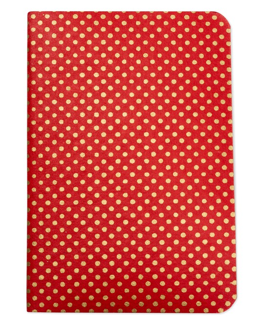 Cahier Pois - Rouge lobster