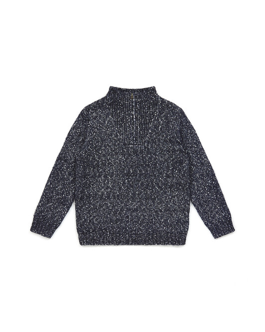 Boy High-Neck Sweater - U018