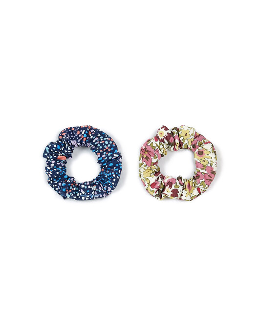 Pack Of Two Liberty Scrunchies - L500