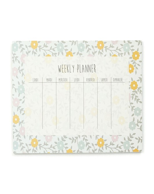 Weekly Planner Foulfleur - Divers
