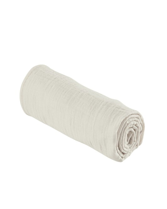 Drap Housse 90X190 Cm Dream Blanc Lait - Blanc