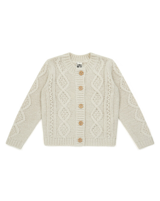 Cardigan Fille Tricot - Milkyway