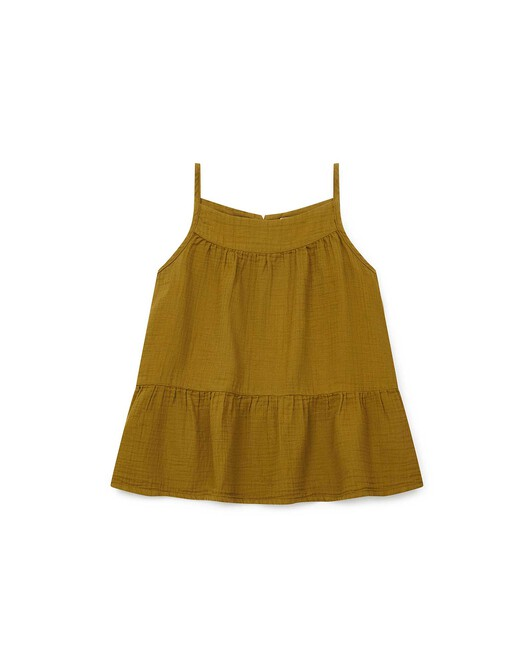 Blouse Fille Caly - Olive oil