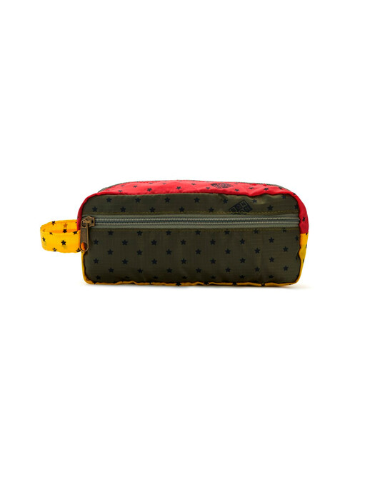 Trousse Patch - Polyester rouge