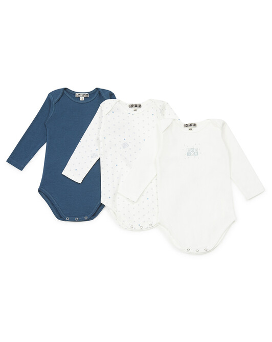 Week Baby Pack Of Three Body Suit - S022
