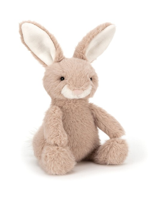 PELUCHE LAPIN BISCUIT - Rose