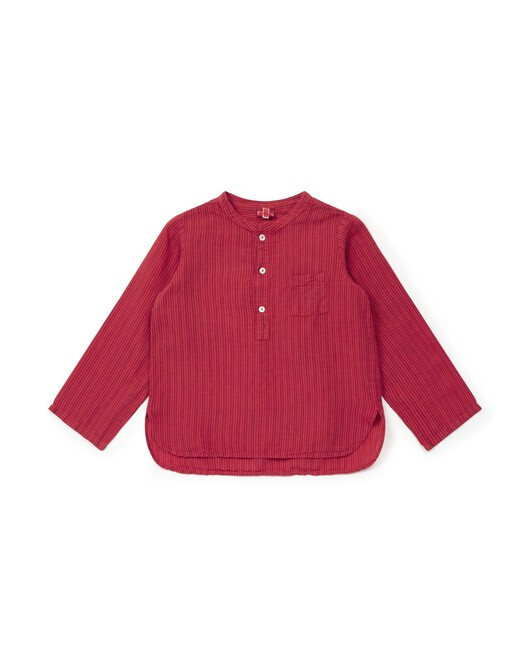 Chemise Matteo - Rouge lobster