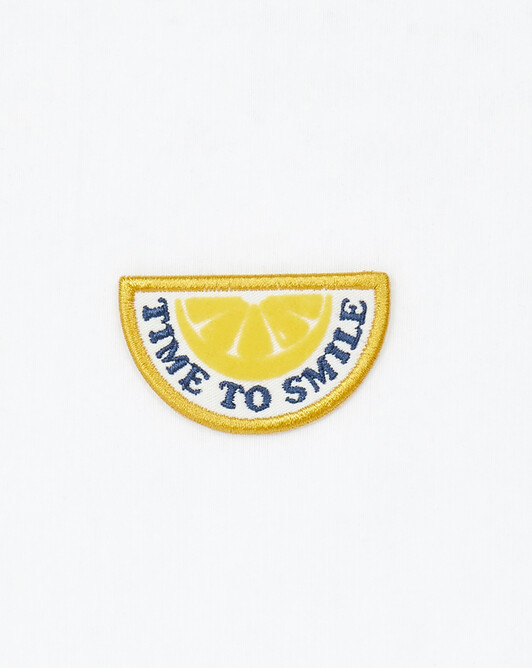 Badge Time To Smile - Divers